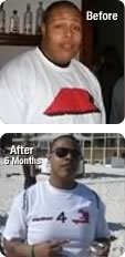 Elijah Johnson before and after 6 months
